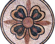 La fleur de croix en mosaïque