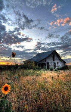 Old abandoned barn....Lovely