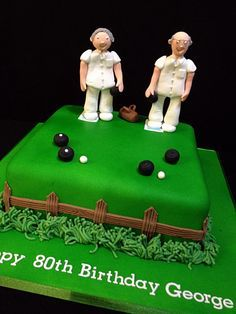 Image result for lawn bowls cake ideas