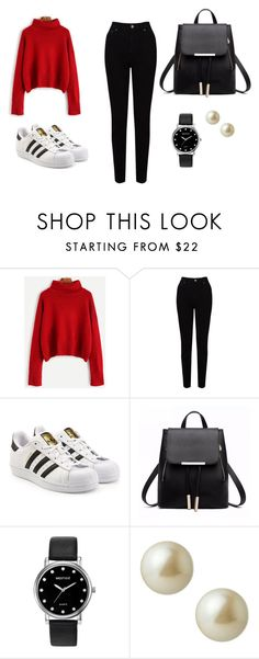 """""""Untitled #2"""" by joana-mendes-2 on Polyvore featuring EAST, adidas Originals, Mestige and Carolee"""
