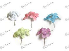 Farfalle decorative in tessuto con glitter