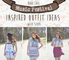 Latest Fashion: 3 Music Festival Outfit Ideas #ThisisStyle #shop