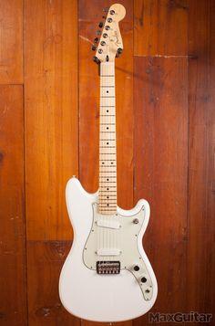 Fender Duo Sonic Arctic White Aged White, Maple Neck