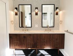 Room And Board Furniture, Kitchen Furniture, Contemporary Baths, Modern Baths, Modern Bathrooms, Countertop Decor, Cement Countertops, Kitchen Backsplash, Modern Wall Decor