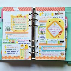 My week thirty pages all filled up. I'm using my #kikkik this week but might be moving to my #filofax again soon. #filofaxlove #filofaxgoodies #filofaxaddict #planner #plannerlove #plannergoodies #chicks #stickynotes #kawaii