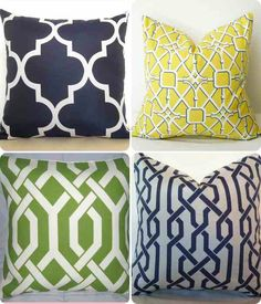Lattice cushions