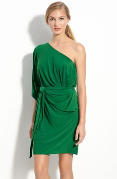Cool 5-Way dress in a great green color for St. Paddy's day!