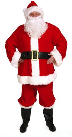 Complete Santa Suit Adult Costume from Buycostumes.com