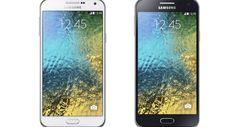 La compañía Samsung revela sus dos nuevas tecnologías de teléfonos inteligentes mas recientes. Los dos móviles son conocidos como el Galaxy E5 y Galaxy E7, que al parecer resultan ser un poco más baratos, aunque cuentan con especificaciones menores.