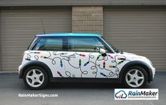 RainMaker-Signs-MINI-holiday-graphics-wrap-Seattle-WA
