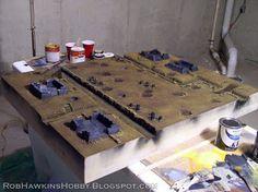 Rivet Wars Diorama: The Battlefield