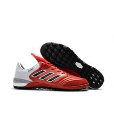 Adidas Copa Tango 17.1 TF Fotbollsskor Röd Svart Vit