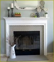 gas fireplace tile surround - Google Search