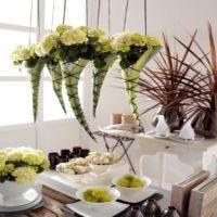 Bloemschikken met hortensia's als blikvanger bloemstuk hortensia bloemen