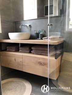 Industrial bathroom furniture with oak and steel. – # bathroom furniture # oak … Industrial bathroom furniture with oak and steel. Bathroom Toilets, Bathroom Renos, Laundry In Bathroom, Bathroom Furniture, Home Furniture, Bathrooms, Bathroom Ideas, Furniture Vanity, Wood Vanity