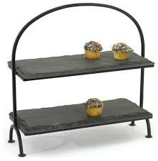 Image result for tier cake stand iron rectangular