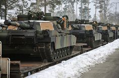 "US Army Sends 100 Tanks To Eastern Europe To ""Deter Russian Aggression"" - The Daily Rapid"