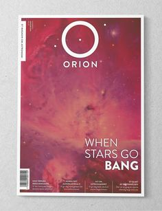 ORION Magazine by Karoline Tynes, via Behance