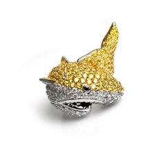 Well, for pretend. Feeling Under The Weather, Noir Jewelry, Decorative Bowls, Shark, Jewerly, Cupcake, Ring, Jewlery, Rings