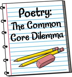 Corkboard Connections: Poetry: A Common Core Dilemma Freebie Lesplan Teaching Poetry, Teaching Language Arts, Classroom Language, Writing Poetry, Teaching Writing, Teaching Kids, Poetry Unit, Writing Resources, Reading Strategies
