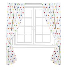 Prevent early morning wake up calls with our handy blackout curtains in rainbow stardust. Shop our full range of kids' curtains here. Rainbow Nursery, Rainbow Room, Rainbow Star, Nursery Curtains, Kids Curtains, Rainbow Curtains, Bright Rooms, Gift Finder, Stars