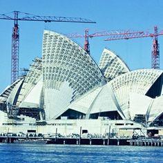 [建筑]世界20个地标性建筑完工前 是长这个样子的