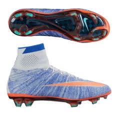 Check out the latest Nike Mercurial Superfly, Made for women, but fit men just fine. The shoe uses the same chassis as the Men's boots, but different sizing. Get your new Nike Women's or Men's soccer cleats today. http://www.soccercorner.com/Nike-Women-s-Mercurial-SuperFly-IV-FG-Soccer-Cleat-p/smwni718753-464.htm