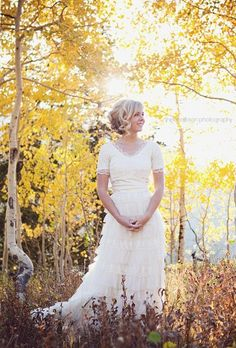 Rustic Wedding Dress