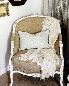 DIY Budget Bedroom Makeover Ideas | Upcycle a Flea Market Chair | Inexpensive Home Decor Ideas