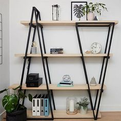 HOME DZINE Home DIY | DIY Industrial-Look Shelf