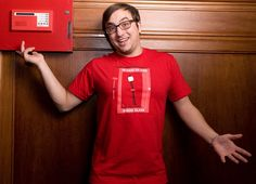"""""""In Case of Fire"""" - Threadless.com - Best t-shirts in the world"""