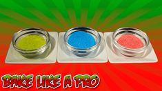 How To Make Colored Sugar Recipe - NO BAKE DRY needed