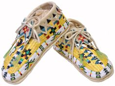 quilled & #beaded-mocs