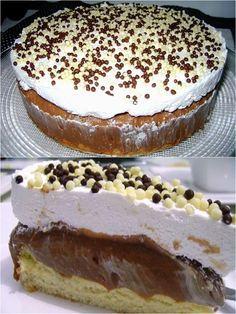 Torta Doce de 3 Camadas – Caderno de Receitas