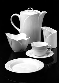 Shades Of White, Marimekko, Finland, Art Deco, Ceramics, Dishes, Tableware, Kitchen, Design