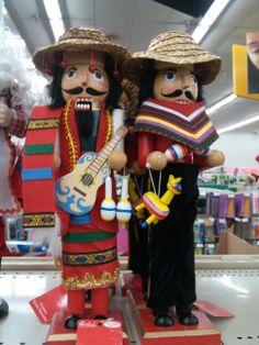 Mexican Christmas  Nutcrackers. Feliz Navidad!
