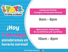 ¡Hoy 1ero de Mayo estaremos atendiendo en Horario Normal! Los esperamos en todas nuestras sucursales #ToysMiTiendaDeJuguetes #fashion #style #stylish #love #me #cute #photooftheday #nails #hair #beauty #beautiful #design #model #dress #shoes #heels #styles #outfit #purse #jewelry #shopping #glam #cheerfriends #bestfriends #cheer #friends #indianapolis #cheerleader #allstarcheer #cheercomp  #sale #shop #onlineshopping #dance #cheers #cheerislife #beautyproducts #hairgoals #pink #hotpink…