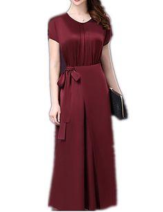 e1f9766488e13   18.99  Mujer Fiesta Noche Vintage Tejido Oriental Sofisticado Vaina  Vestido Un Color Midi