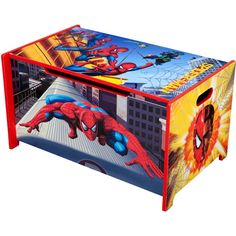Little Tykes Toy Boxes : Kids' Storage - Walmart. Game Storage, Kids Storage, Marvel Bedroom, Little Tykes, Delta Children, Man Room, Toy Boxes, Toy Store, Cool Toys