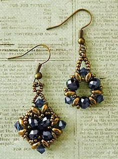Linda's Crafty Inspirations: Noah & Tanya Earrings