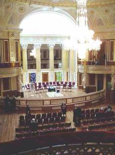 Concert hall at George's hall!
