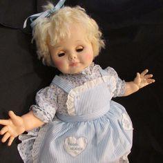 Huge Vintage Eegee Anniversary Baby Doll, Vinyl/Cloth BEAUTIFULLY DRESSED EUC ! | eBay