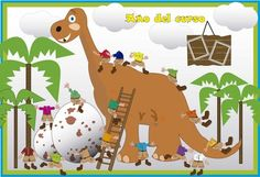 Orlas Dinosaur Activities, Activities For Kids, Orla Infantil, Orlando, Classroom Decor, Photo Booth, Preschool, Arts And Crafts, Clip Art