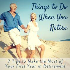 Things To Do When You Retire - SeniorAdvisor.com Blog