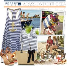 """""""Pack for Vacationland with Sperry Top-Sider"""" by rachel ❤ liked on Polyvore"""