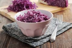 Recipe for Red Cabbage Slaw