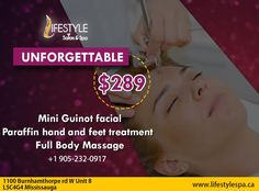 To Avail This Exciting 3 In 1 Offer, Visit Lifestyle Now! For Appointment & More Queries : Call: Feet Treatment, Appointments, Salons, Massage, Facial, Spa, The Unit, Lifestyle, Lounges