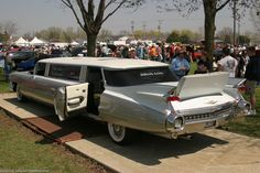 1959 Cadillac Limousine with rumble seat