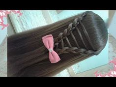 Peinados no se imagina cómo es hermosos y fáciles / RAPIDOS Y BONITOS CON TRENZAS - YouTube
