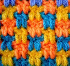 2 dc, ch 2 pattern - easy pattern!